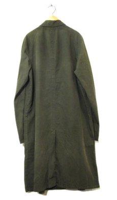 """画像2: 1960-70's """"Rainfair"""" Cotton Poplin Soutien Collar Coat OLIVE size M - L (表記 不明) (2)"""