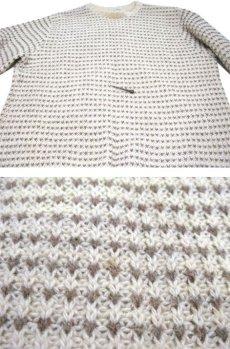 """画像5: """"LAKE HARMONY ROWING CLUB"""" Wool Sweater -made in USA- Off White / Beige size L (表記 XL) (5)"""