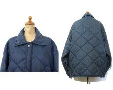 "画像2: 1970's ""BIG SMITH"" Quilting Coach Jacket NAVY size L - XL (表記 不明) (2)"