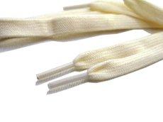 """画像3: SHOE SHIFT """"Regular Width"""" Cotton Shoelace -made in JAPAN- NATURAL (3)"""