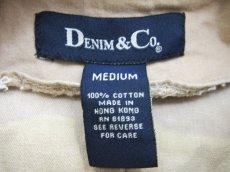 画像4: 1990's Denim & Co. Cotton Duffle Coat BEIGE size S - M (表記 M) (4)
