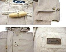 画像3: 1990's Denim & Co. Cotton Duffle Coat BEIGE size S - M (表記 M) (3)