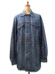 画像1: 1970's Levi's  Denim Bush Jacket size M  (表記 M) (1)
