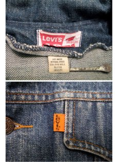 画像5: 1970's Levi's  Denim Bush Jacket size M  (表記 M) (5)