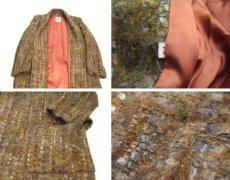 """画像4: 1960's """"RUTH MC CULLOCH"""" Mohair Wool Coat BROWN size M (表記 不明) (4)"""