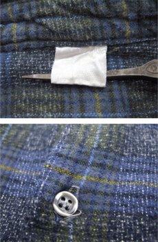 画像3: 1960's~ Europe L/S Pullover Long Shirts BLUE size M - L (3)