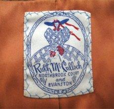 """画像3: 1960's """"RUTH MC CULLOCH"""" Mohair Wool Coat BROWN size M (表記 不明) (3)"""