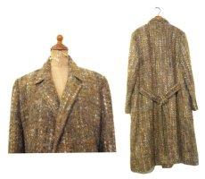 """画像2: 1960's """"RUTH MC CULLOCH"""" Mohair Wool Coat BROWN size M (表記 不明) (2)"""