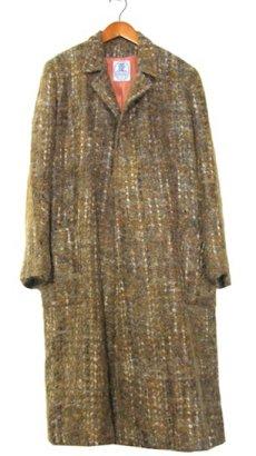 """画像1: 1960's """"RUTH MC CULLOCH"""" Mohair Wool Coat BROWN size M (表記 不明) (1)"""