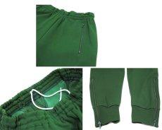 画像3: 1970-80's Europe Tapered Jersey Pants GREEN size S (表記 48) (3)