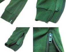 画像4: 1970-80's Europe Tapered Jersey Pants GREEN size S (表記 48) (4)