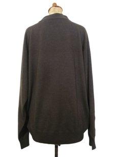 """画像2: """"joseph & lyman"""" Wool Mock Neck Knit -made in AUSTRALIA- BROWN size M - L (表記 L) (2)"""