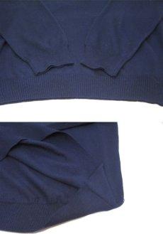 """画像5: """"GRANT THOMAS"""" Merino Wool Mock Neck Knit -made in ITALY- NAVY size L (表記 XL) (5)"""
