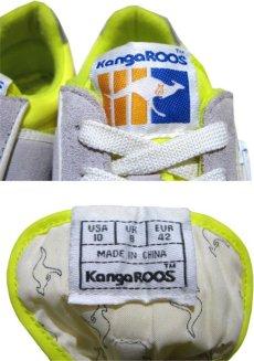 画像4: KangaROOS  Leather / Nylon Sneaker Grey / Yellow size 9 / 27cm (表記 Lady's10) (4)