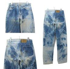画像2: 1980's Levi's Lot 505 Blue Denim Pants  -made in U.S.A. Blue Denim size w 29.5 inch (表記 w30 × L31) (2)