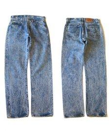 画像6: 1990's Levi's Lot 501 Chemical Wash Denim Pants -made in USA- Blue Denim size w 30 inch (表記 31 x 32) (6)