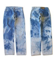画像6: 1980's Levi's Lot 505 Blue Denim Pants  -made in U.S.A. Blue Denim size w 29.5 inch (表記 w30 × L31) (6)