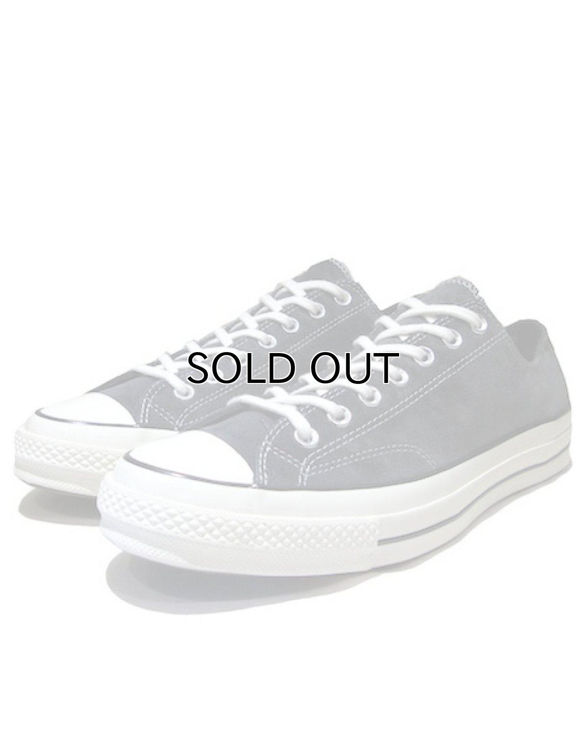 """画像1: NEW Converse """"First String"""" Low-Cut Suede Sneaker Charcoal Grey size 10.5 (1)"""