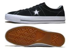 """画像3: NEW CONVERSE """"ONE STAR"""" Suede Skate Shoes Black / White size 7 (3)"""