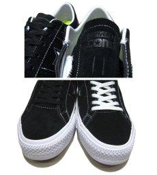 """画像4: NEW CONVERSE """"ONE STAR"""" Suede Skate Shoes Black / White size 7 (4)"""