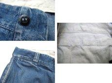 画像5: 1950's BIG MAC Denim Trousers Indigo Blue size w 31 inch (5)