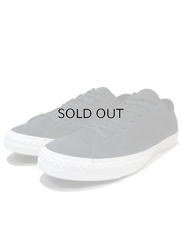 "画像1: NEW ""CONVERSE"" ALL STAR Nubuck Leather Sneaker BLACK size US 10 (28.5cm) (1)"