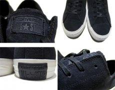 "画像4: NEW ""CONVERSE"" ALL STAR Nubuck Leather Sneaker BLACK size US 10 (28.5cm) (4)"