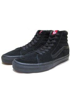 """画像1: NEW VANS """"SK8-HI"""" Suede Skate Shoes BLACK size US 11 (1)"""