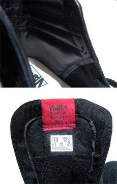 """画像4: NEW VANS """"SK8-HI"""" Suede Skate Shoes BLACK size US 11 (4)"""