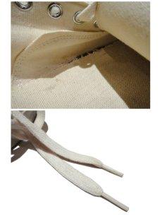 """画像5: 1970's U.S.ARMY Canvas Training Shoes  made in U.S.A. """"Dead Stock"""" size 13 1/2 (5)"""
