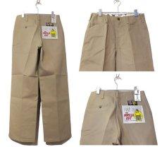 """画像3: BEN DAVIS  """"THE GORILLA CUT"""" Wide Work Pants BEIGE size  w 30 / w 32 (3)"""