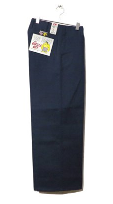 "画像1: BEN DAVIS  ""THE GORILLA CUT"" Wide Work Pants NAVY size  w 30 / w 32 (1)"