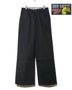"画像2: BEN DAVIS  ""THE GORILLA CUT"" Wide Work Pants BLACK size w 30 / w 32 (2)"