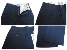 "画像4: BEN DAVIS  ""THE GORILLA CUT"" Wide Work Pants NAVY size  w 30 / w 32 (4)"