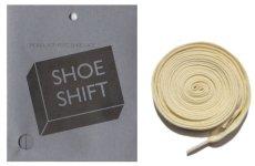 """画像1: SHOE SHIFT """"Regular Width"""" Cotton Shoelace -made in JAPAN- NATURAL (1)"""
