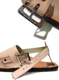 "画像7: JUTTA NEUMANN ""JEFF"" Leather Sandal NATURAL size 9 D (7)"