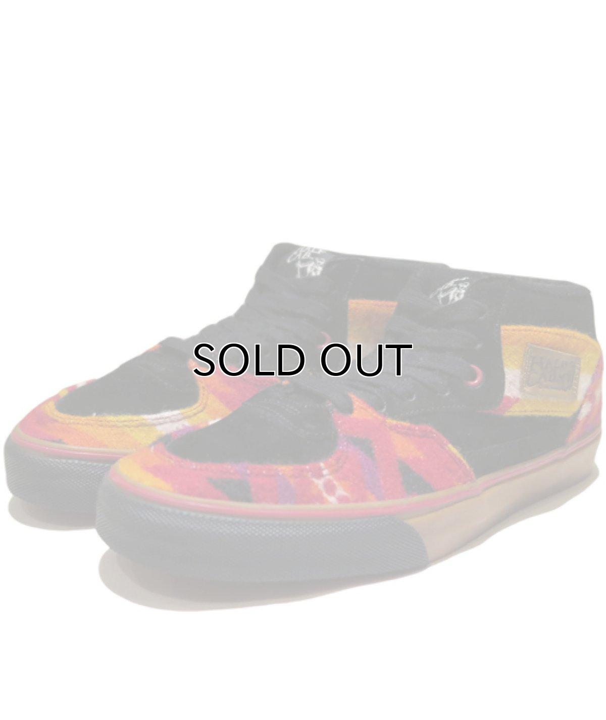 """画像1: NEW VANS × PENDLETON """"Half Cab"""" Skate Shoes BLACK / NATIVE size US 9 1/2 (1)"""