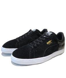 """画像1: NEW PUMA """"SUEDE"""" Gradation Sneaker BLACK size US 11 (29cm) (1)"""
