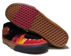 """画像4: NEW VANS × PENDLETON """"Half Cab"""" Skate Shoes BLACK / NATIVE size US 9 1/2 (4)"""