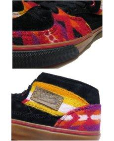 """画像5: NEW VANS × PENDLETON """"Half Cab"""" Skate Shoes BLACK / NATIVE size US 9 1/2 (5)"""