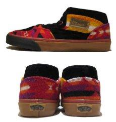 """画像3: NEW VANS × PENDLETON """"Half Cab"""" Skate Shoes BLACK / NATIVE size US 9 1/2 (3)"""