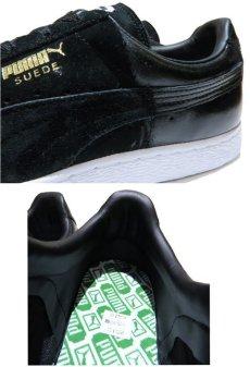 """画像5: NEW PUMA """"SUEDE"""" Gradation Sneaker BLACK size US 11 (29cm) (5)"""