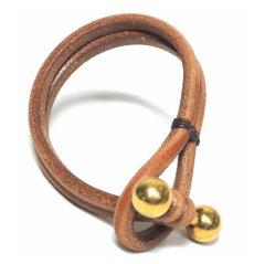 画像2: JUTTA NEUMANN Leather Wrist Band ブレスレット color : Natural Tan size : S, M, L (2)