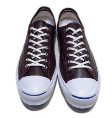"""画像2: NEW Converse """"Jack Purcell Signature"""" Low-Cut Leather Sneaker BROWN size 13 (2)"""
