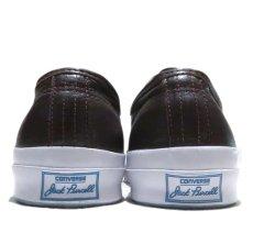 """画像4: NEW Converse """"Jack Purcell Signature"""" Low-Cut Leather Sneaker BROWN size 13 (4)"""