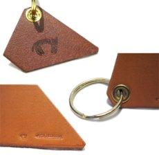 """画像3: B) """"JUTTA NEUMANN"""" Leather Key Holder  color : TAN (3)"""