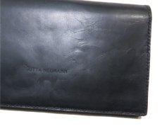 """画像9: """"JUTTA NEUMANN"""" Leather Wallet """"the Waiter's Wallet""""  color : Black / Yellow 長財布 (9)"""