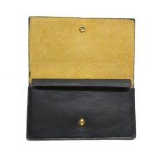 """画像3: """"JUTTA NEUMANN"""" Leather Wallet """"the Waiter's Wallet""""  color : Black / Yellow 長財布 (3)"""