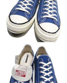 "画像4: NEW Converse ""Chuck Taylor Premium"" Low-Cut Canvas Sneaker BLUE size 9.5 (4)"