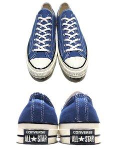 "画像2: NEW Converse ""Chuck Taylor Premium"" Low-Cut Canvas Sneaker BLUE size 9.5 (2)"